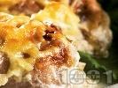 Рецепта Свинско месо в зелеви сарми на фурна